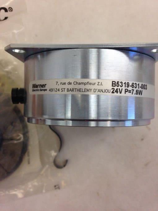 "WARNER ELECTRIC PB250 B5319-631-003 24V 1/2"" (F266) 2"