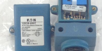 NNB! EATON 1251B-6507 THRU-BEAM DETECTOR 70FT FAST SHIP!!! (A115) 1