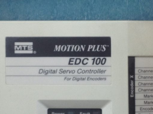 USED,GOOD! MTS-MOTION PLUS EDC100 DIGITAL SERVO CONTROLLER FAST SHIP!!! (B132) 3