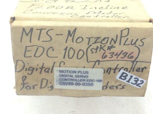 USED,GOOD! MTS-MOTION PLUS EDC100 DIGITAL SERVO CONTROLLER FAST SHIP!!! (B132) 6