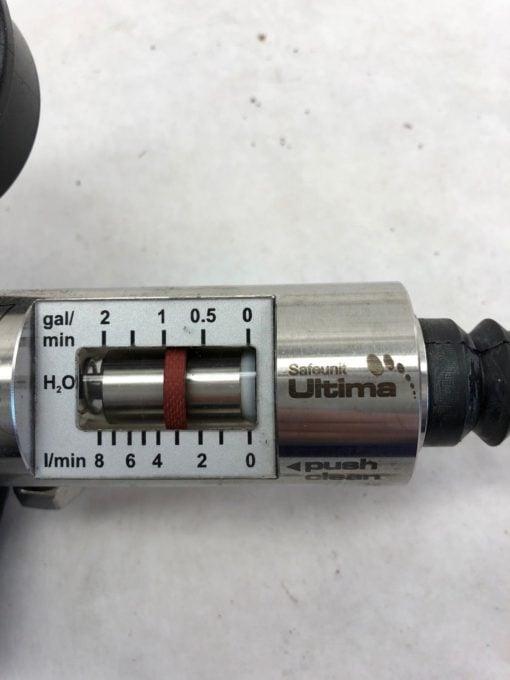 NEW JOHN CRANE SAFEMATIC SAFEUNIT ULTIMA 0-10 BAR 0-140 PSI FLOWMETER, (B452) 2