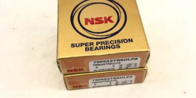 LOT OF 2 NEW IN BOX NSK 7905A5TRSULP3 PRECISION ANGULAR CONTACT BEARING (F269) 1