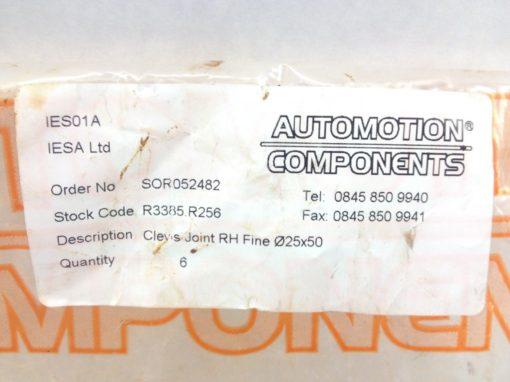 AUTOMOTION COMPONENTS SS RH FINE CLEVIS JOINT ASSEMBLY KIT (A758) 4