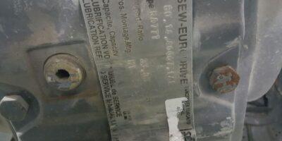 SEW-EURODRIVE KA77TDT100L4 with Euro KA77T Gear Reducer 85