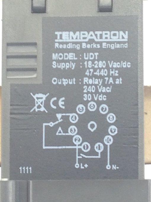 TEMPATRON UNIVERSAL DIGITAL MULTI FUNC TIMER CONTROLLER PANEL-MOUNT 343-997(A769 2