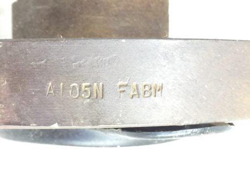 """VOGT FLOWSERVE 373 STL GATE VALVE A105PB12 1-1/2"""" 600# A105SR A105N-FABM (P6) 5"""