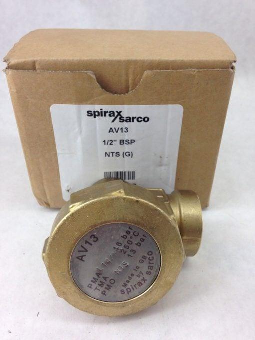"""SPIRAX SARCO AV13 1/2"""" BSP AIR VENT (A855) 1"""