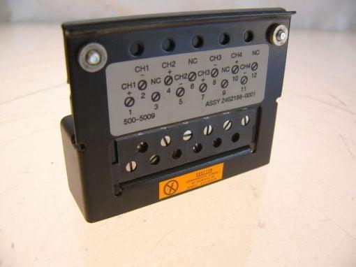 SIEMENS 2462188-0001 TERMINAL CONNECTOR NEW!!! (F124) 1
