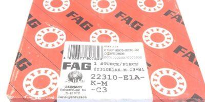 FAG 22310-E1A-K-M-C3 SPHERICAL ROLLER BEARING (A877) 1