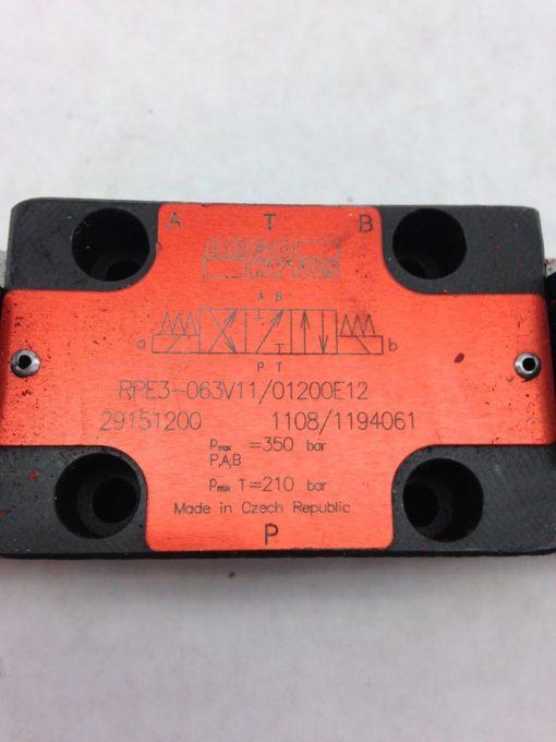 ARCO HYTOS SOLENOID VALVE RPE3-063V11/01200E12 (F285) 2