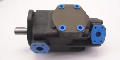 NEW!!! Parker T7 Hydraulic Pump 3″ Inlet 1″ + 1 1/4″ Outlets B50 1