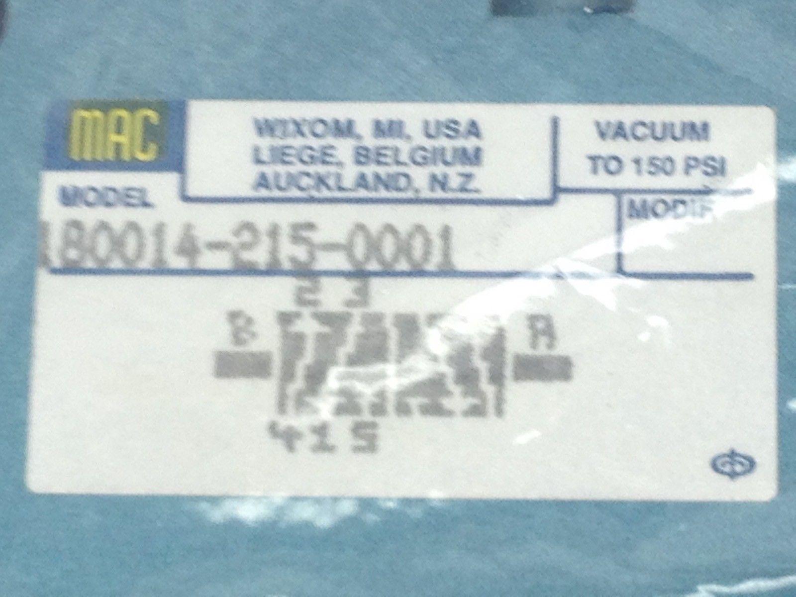 GENUINE MAC 180014-215-0001 SOLENOID VALVE (A825) 2