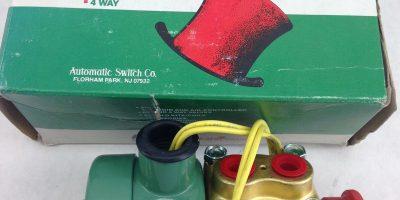 ASCO RED HAT HB8342C2MS SOLENOID VALVE (B418) 1