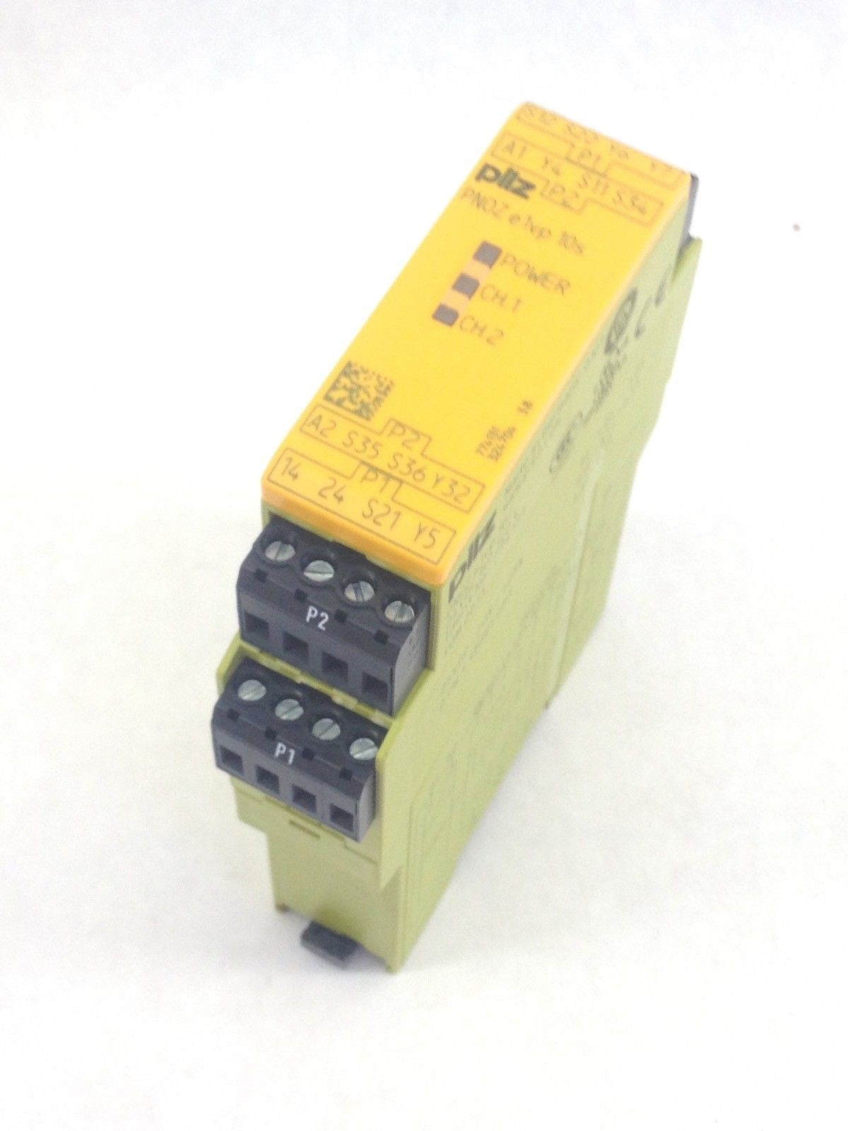 PILZ PNOZE1VP10S SAFETY EMERGENCY STOP RELAY 24VDC (A825) 3
