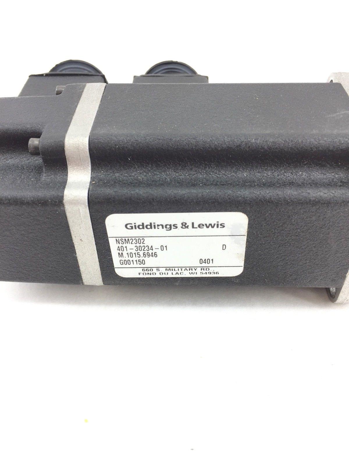 GIDDINGS AND LEWIS MOTOR NSM2302 401-30234-01 (A588) 2