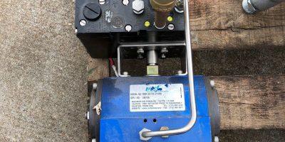 MCF MSR 80 F05 ACTUATOR PMV EP5 ELECTRO PNEUMATIC POSITIONER W/ ASCO 8210G94 1