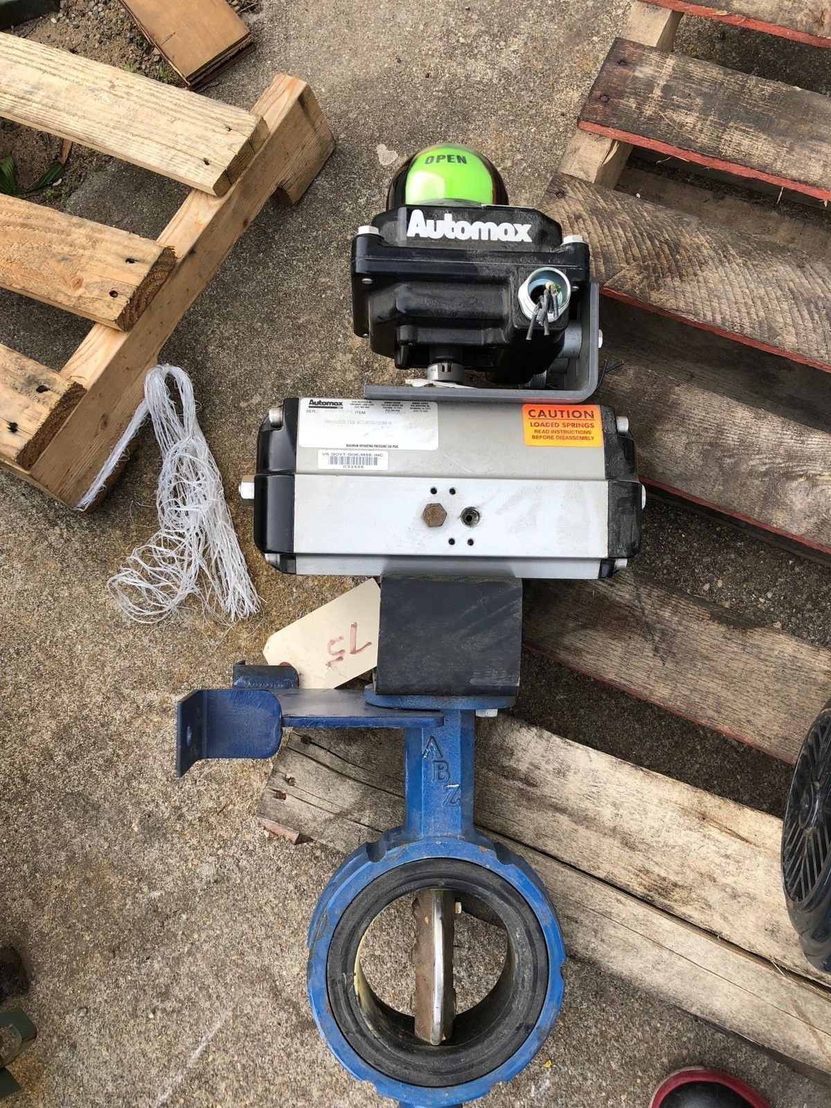 USED AUTOMAX ACTUATOR SNA100S10 4� GATE VALVE AUTOMAX ULTRASWITCH, FAST SHIP! 1