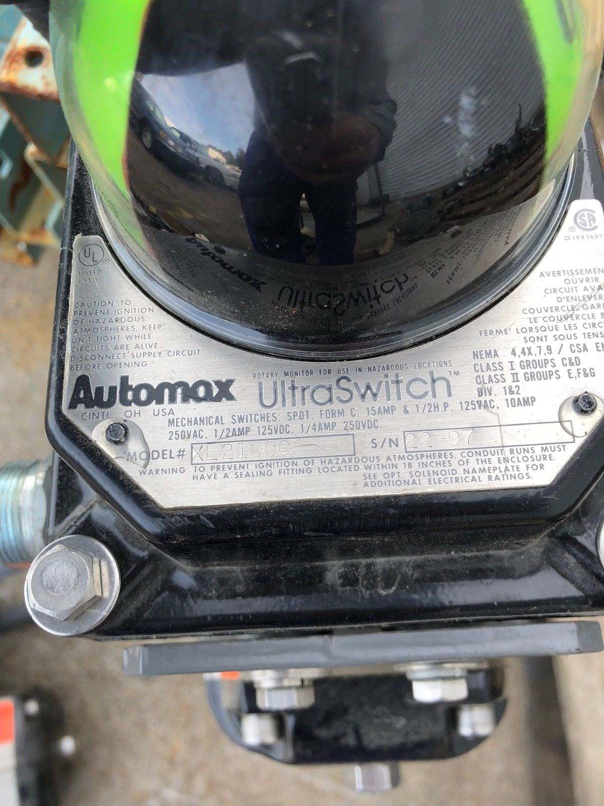 USED AUTOMAX ACTUATOR SNA100S10 4� GATE VALVE AUTOMAX ULTRASWITCH, FAST SHIP! 3