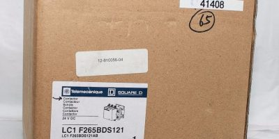 SQUARE D LC1F265BDS121 3-POLE 24VDC CONTACTOR! FACTORY SEALED! FAST SHIP! (B148) 1