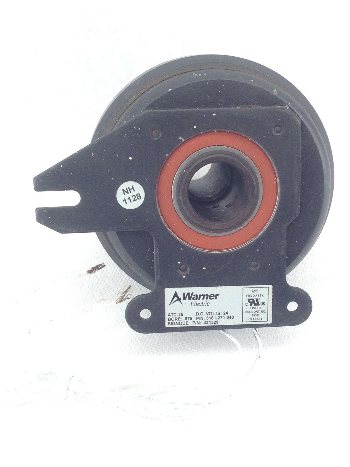 NEW! WARNER ATC-25 ELECTRIC CLUTCH 5161-271-040 24VDC SIGNODE 431329 (B191) 1
