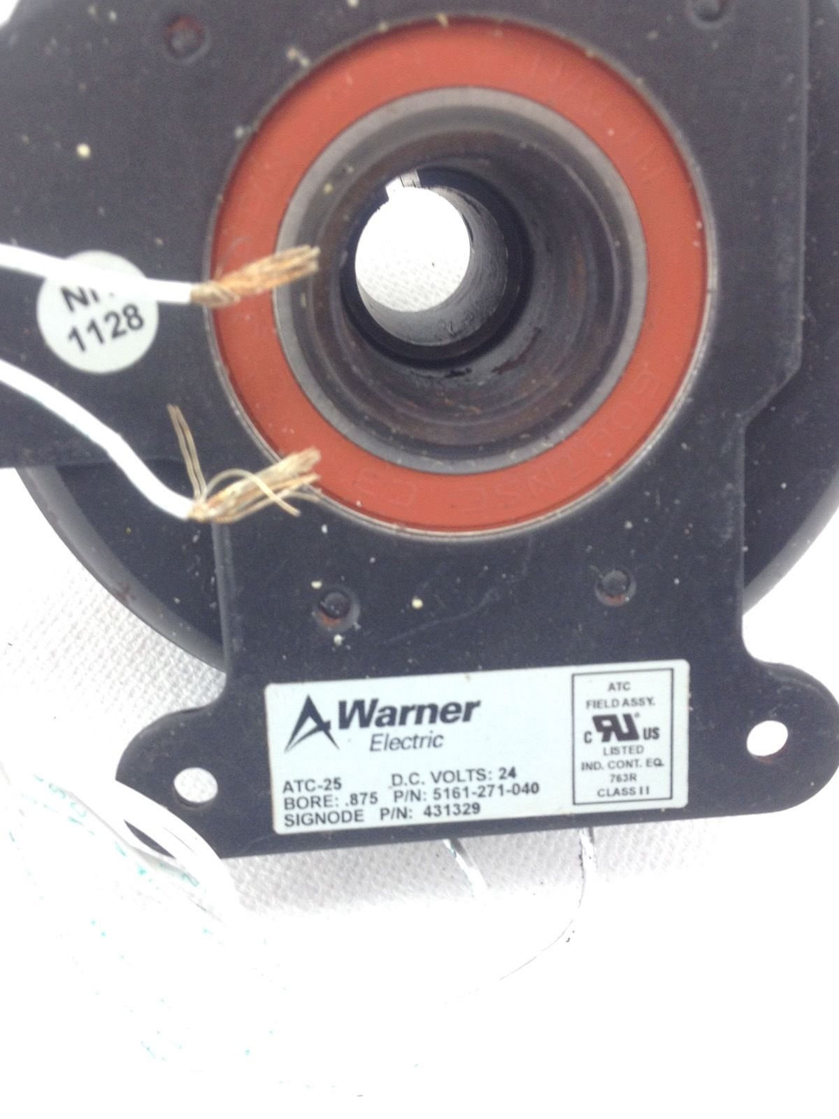 NEW! WARNER ATC-25 ELECTRIC CLUTCH 5161-271-040 24VDC SIGNODE 431329 (B191) 2