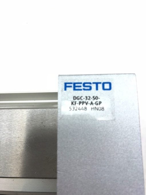 NEW FESTO DGC-32-50-KF-PPV-A-GP LINEAR ACTUATOR, 532448, HN08, FAST SHIP! (B426) 2