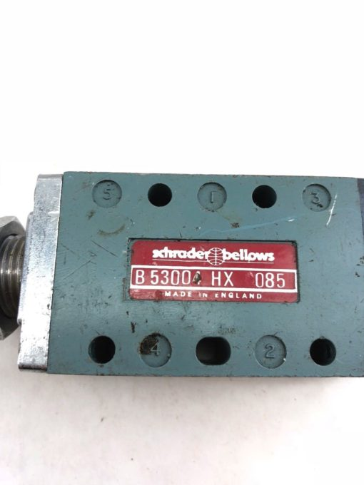 USED SCHRADER BELLOWS PARKER B53004HX VALVE B 53004 HX, FAST SHIP! (A844) 2