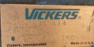 Vickers Low Noise Vane Double Pump 3525VQ30A14 *Reman* (B195) 1
