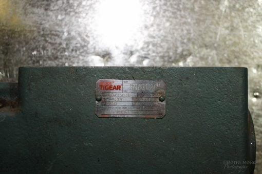 BALDOR DODGE 180/350-15 TIGEAR RIGHT ANGLE WORM GEAR BOX SPEED REDUCER P3 3