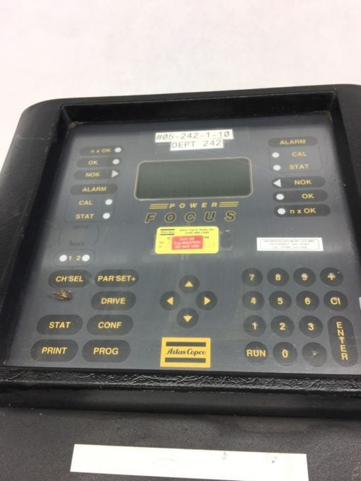 ATLAS COPCOÂ 2101-S7-115R TENSOR S7Â Power Focus Electric Tool Controller, (TLO) 2