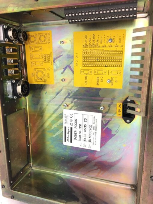 ATLAS COPCOÂ 2101-S7-115R TENSOR S7Â Power Focus Electric Tool Controller, (TLO) 3