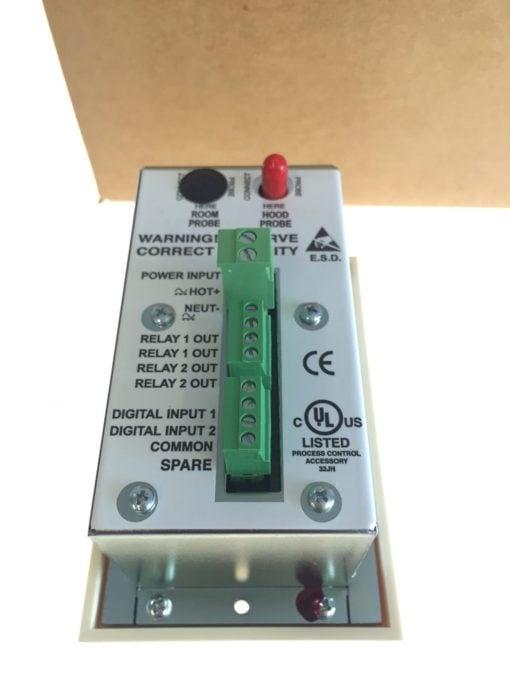 NEW IN BOX TEK-AIR T-APM-00 APEX Premier Mon Standard Face Velocity Monitor B157 3