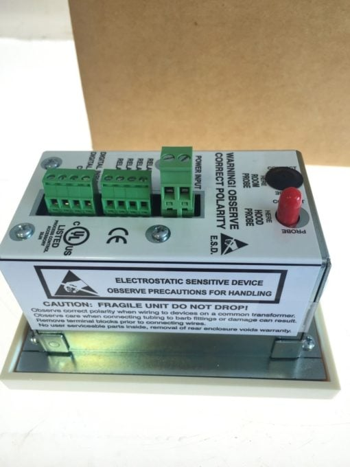 NEW IN BOX TEK-AIR T-APM-00 APEX Premier Mon Standard Face Velocity Monitor B157 4