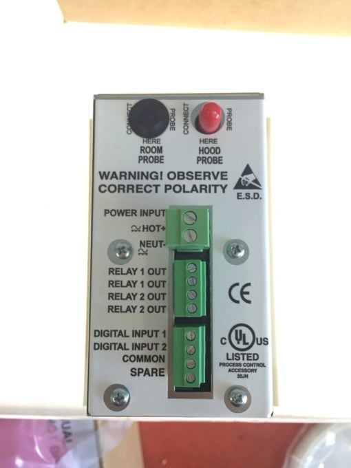 NEW IN BOX TEK-AIR T-APM-00 APEX Premier Mon Standard Face Velocity Monitor B157 6