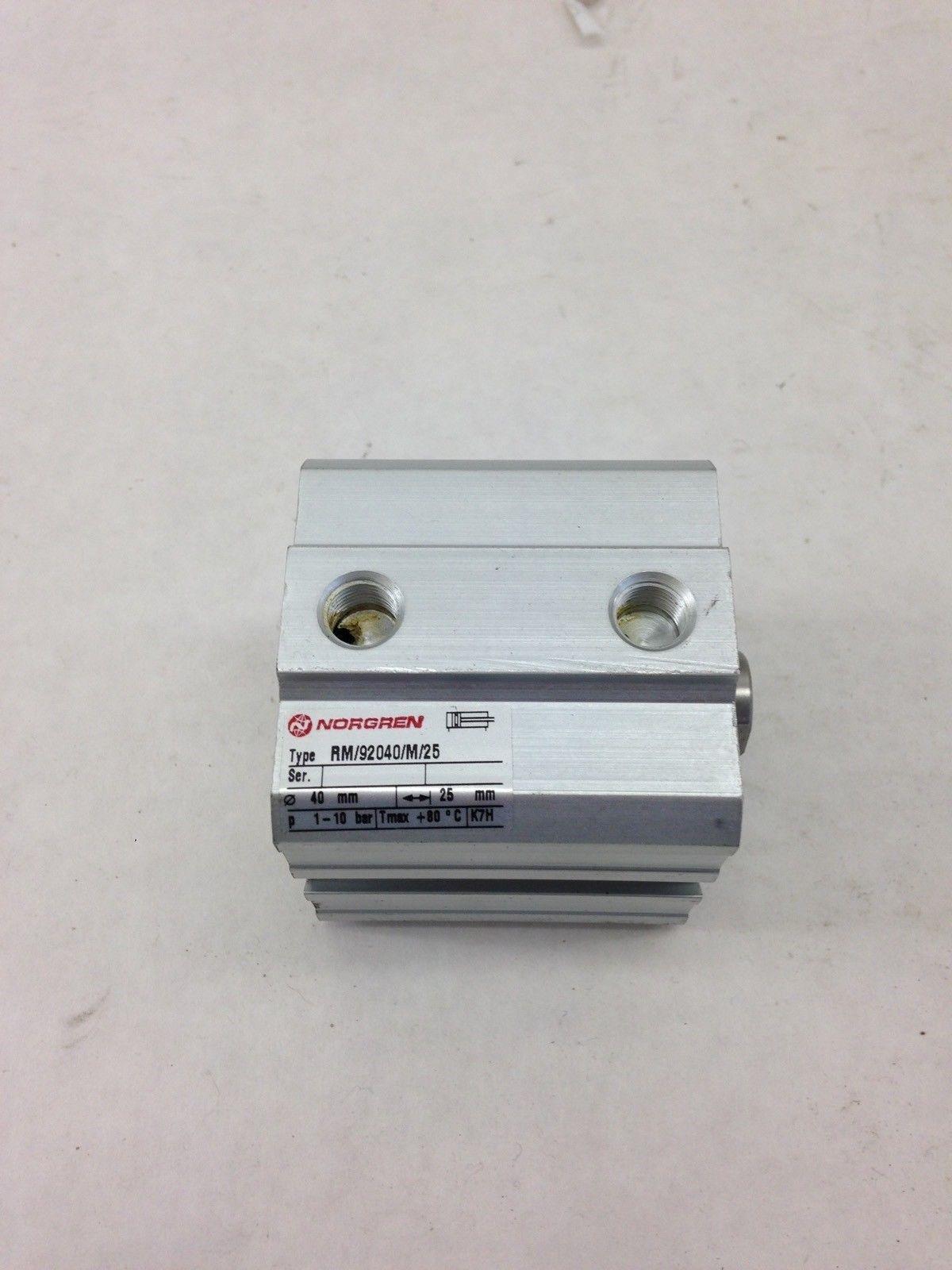 NORGREN RM/92040/M/25, 40X25MM COMPACT CYLINDER VALVES (A839) 1