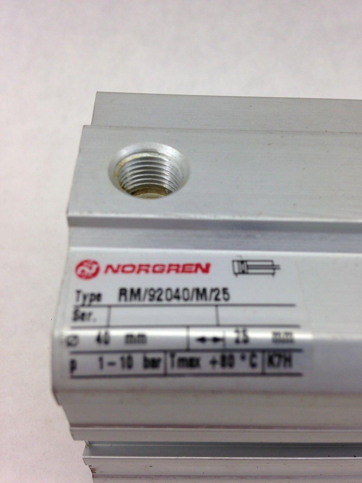 NORGREN RM/92040/M/25, 40X25MM COMPACT CYLINDER VALVES (A839) 2