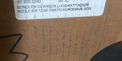 NEW IN BOX SEW EURODRIVE KA77TAD3ZR 99:1 RATIO REDUCER AND GEARBOX, (NP16) 1