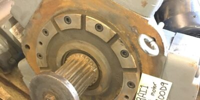 NEW GREAT CONDITION PARKER CALZONI MR1100 MR1100D9 RADIAL PISTON MOTOR, (NP6) 1