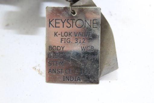 Keystone 312 K-Lok Valve CF8M *NEW* (B281) 2