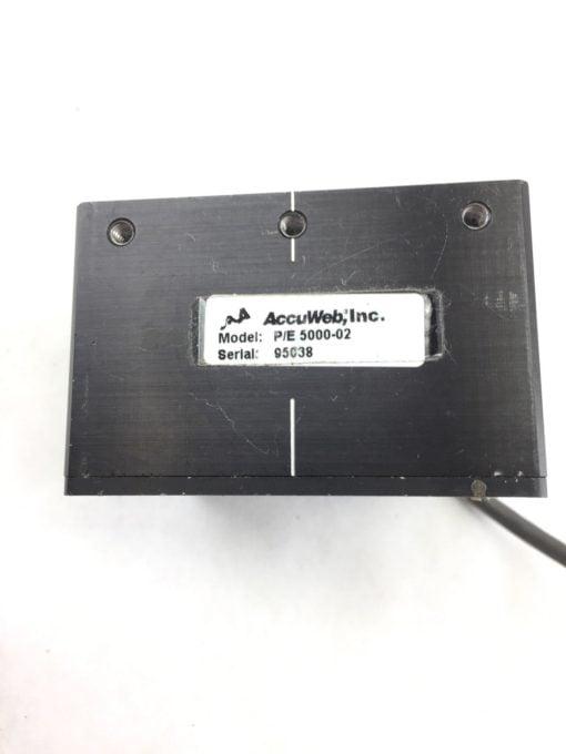 ACCUWEB ACCUBEAM P/E 5000-02 DIGITAL LINE GUIDE (A639) 2